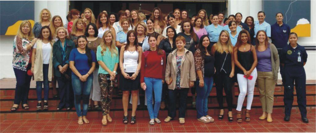 imagen de las participantes del agasajo